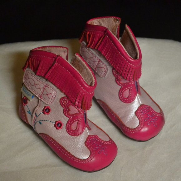 robeez Shoes | Pink Boots | Poshmark
